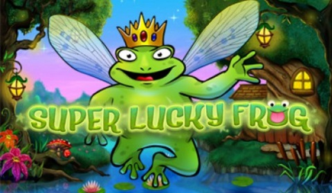 super lucky frog!